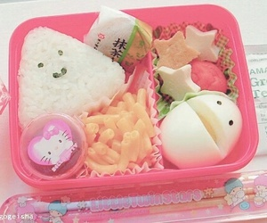 food, bento, and kawaii image