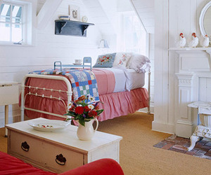 bedrooms, cute, and blues image
