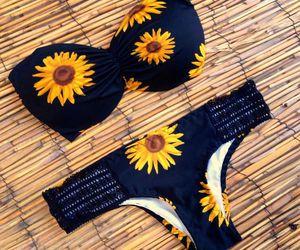 bikini, summer, and bathing suit image