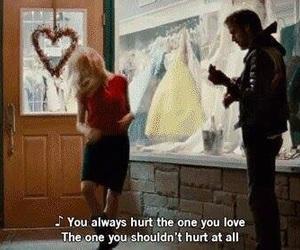 hurt, blue valentine, and movie image