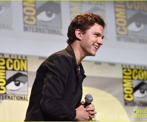 tom holland, Marvel, and peter parker image