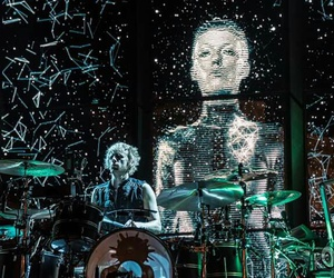 band, drummer, and muse image