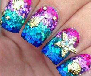 nails and sea image