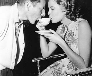 grace kelly and tea image