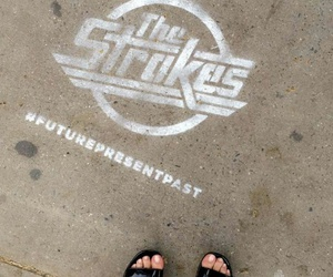 alexa chung, style, and the strokes image