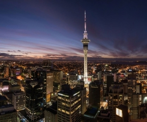 auckland, new zealand, and sky tower image