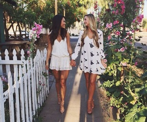 fashion, summer, and friends image