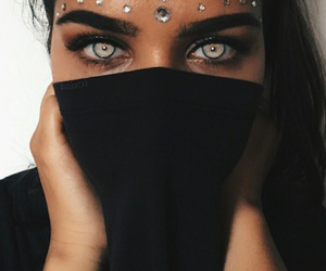 eyes, beautiful, and makeup image