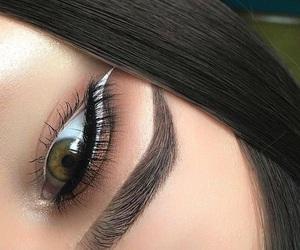 fashion, makeup, and eyeliner image