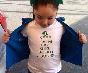 Cookies, girl scout cookies, and funny image