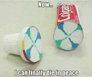 colgate, funny, and toothpaste image