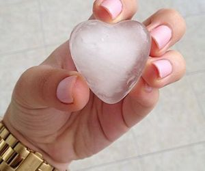 heart, nails, and ice image