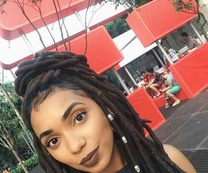 Afro, melanin, and beauty image