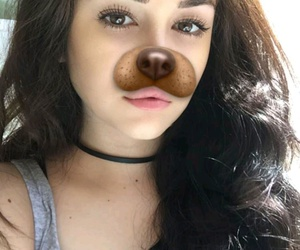 maggie lindemann, girl, and snapchat image