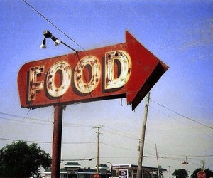 food, red, and retro image