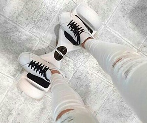 white, black, and hoverboard image