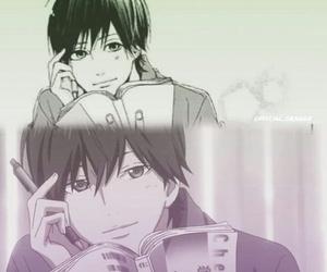 anime, kakeru, and manga image