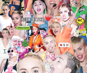 aesthetic, colorful, and miley cyrus image