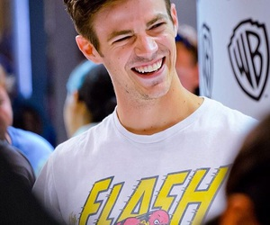 comic con, smile, and barry allen image