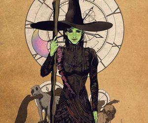 wicked, Wicked Witch of the West, and elphaba image