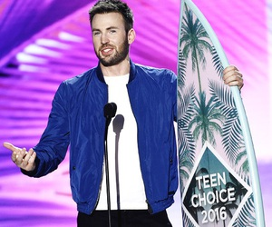 chris evans, teen choice awards, and captain america image
