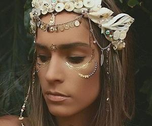 mermaid and crown image