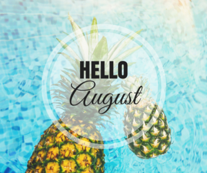 August, blue, and hello august image