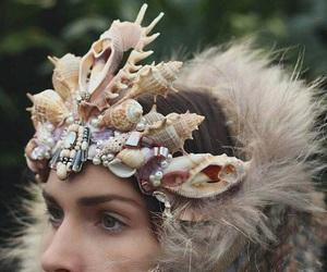 chic, fantasy, and seashells image