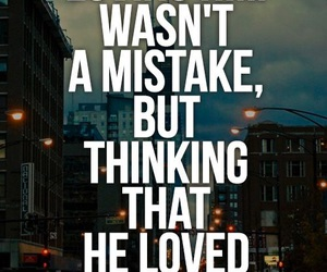 love, quotes, and mistake image