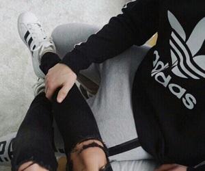 adidas, couple, and tumblr image