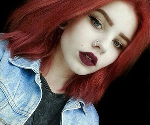hair, red, and alternative image