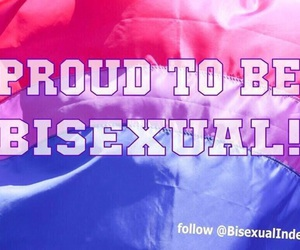 bisexual, bisexuality, and pride image