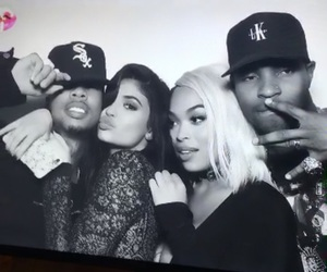 kylie jenner, tyga, and king kylie image