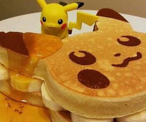 pikachu, pokemon, and food image