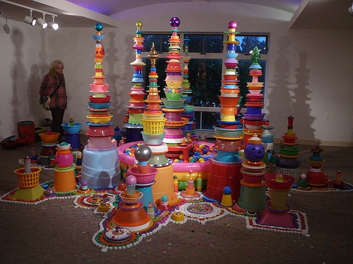 art, colorful, and installation image