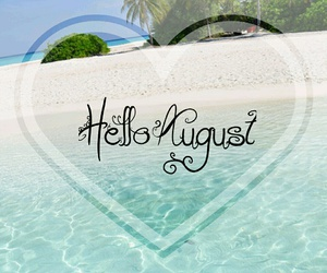 August, sea, and summer image