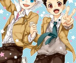anime, killua, and gon image