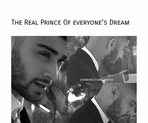 dream boy, black and white pic, and prince image