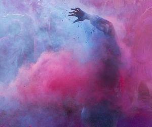 pink, blue, and colors image