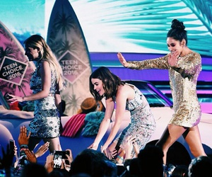 teen choice awards, lucy hale, and shay mitchell image
