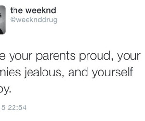 quotes, the weeknd, and life image