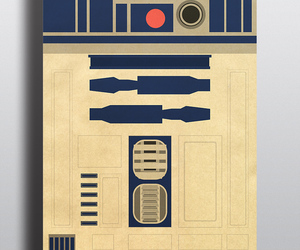 minimal, posterittystyle, and r2d2 image