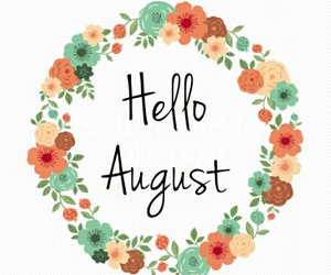 August, flower, and summer image