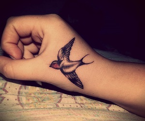 swallow and tattoo image
