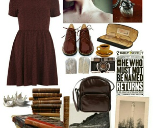 harry potter, Polyvore, and retro image