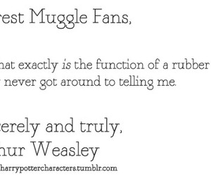 fans, muggle, and arthur image