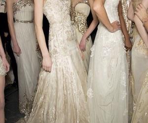 dress, model, and Zuhair Murad image