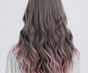 hairstyle and pink hair image