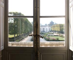 garden, palace, and versailles image