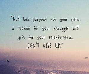 god, purpose, and struggle image